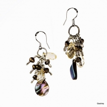 Lilly N°1 - Boucles d'oreilles - Gautrey Paris