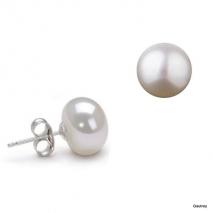 Le bouton charmant - Boucles d'oreilles