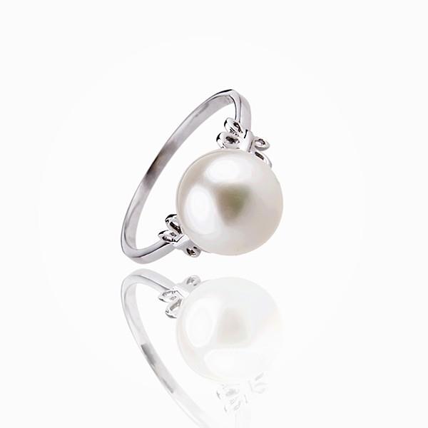 La rayonnante finesse - Bague Perle Argent 925
