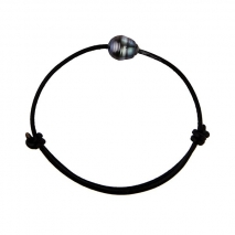 Chic for men N° 2 - Bracelet - Tahitian Pearl