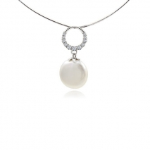 Absolute elegance - pendant - cultured pearl
