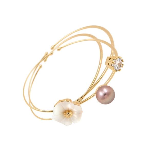 Trinity N°2 - Bracelet - Titane - Plaqué or