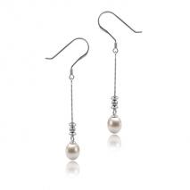 Classique et chic N°2 - Boucles d'oreilles - Perles de Culture