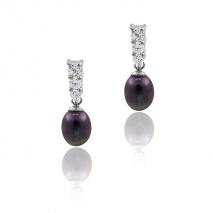 Majesté et sérénité - Boucles d'oreilles - Perles de Culture