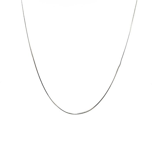 Long chain - Snake mesh type - 925 Silver