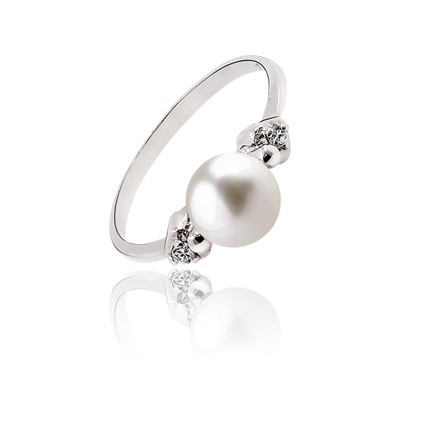 Emma - Ring - Cultured pearl