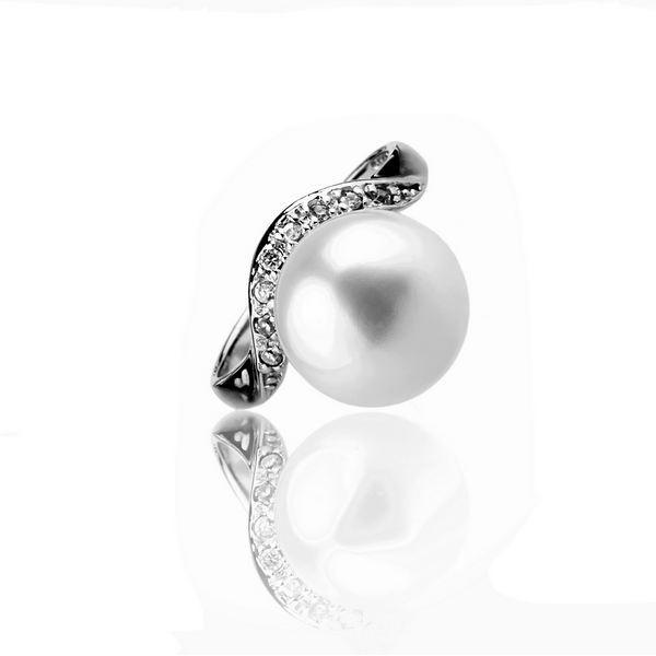 La soirée romantique - Bague Perle Argent 925