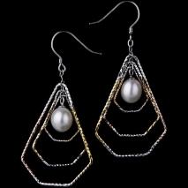 Isis et Osiris N°1 - Boucles d'oreilles