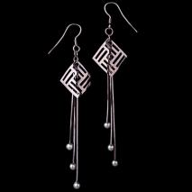 L'amour moderne - Boucles d'oreilles - Perle de culture