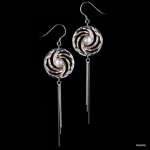 Isis et Osiris N°2 - Boucles d'oreilles