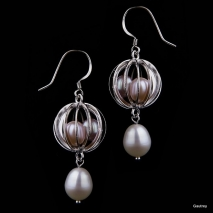 Secret Love - Earrings - Pearls