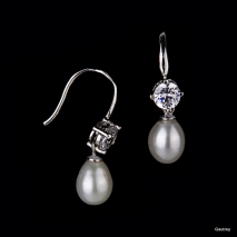 Absolute Class N°3 - Earrings - cultured pearl - Gautrey Paris