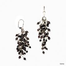Deux chutes de Perles - Boucles d'oreilles