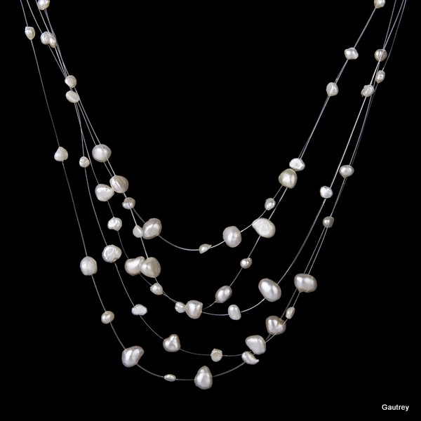 collier perle paris