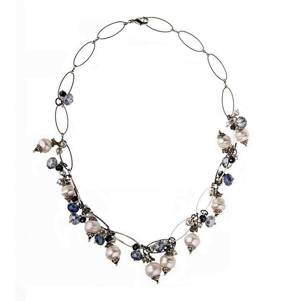 Stravaganza N° 5 - Necklace - Cultured pearl