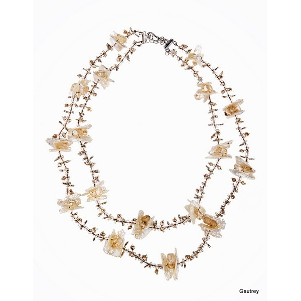 Lilly N ° 2 - Cultured pearl necklace