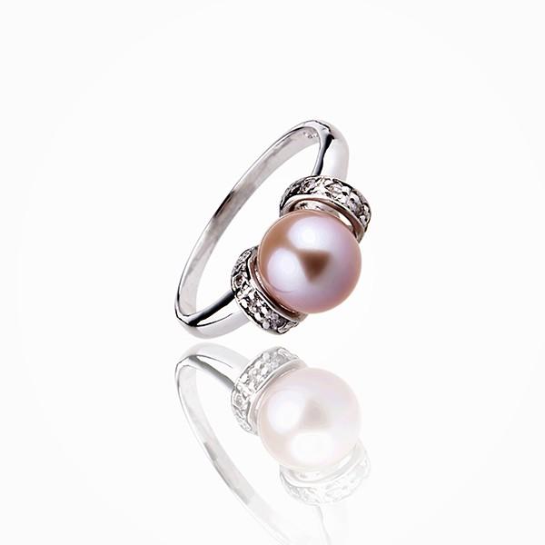 bague perle fragile