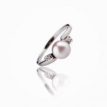 Natural elegance - Cultured Pearl ring