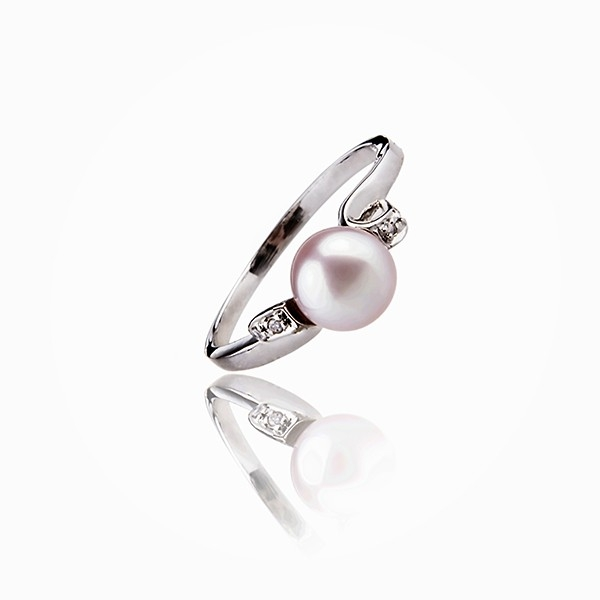 Natural elegance - Cultured Pearl ring