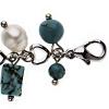 Turquoise et Cristal - Bracelet Perle de culture