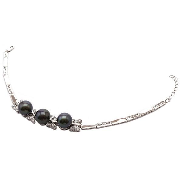 Les papillons féminins - Bracelet Perle Argent 925