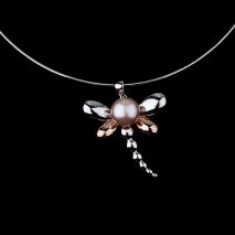 The Dragonfly by Gautrey - Pendant