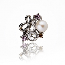 Michel Angelo N° 3 - Ring - Cultured pearl