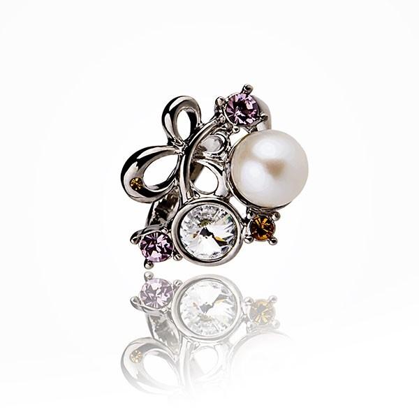 Michel Angelo N° 3 - Ring - Cultured pearl