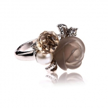 La Rose by Gautrey - Bague - Perle de culture