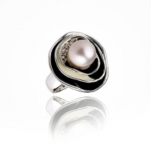 Michel Angelo N° 1 - Ring - Cultured pearl