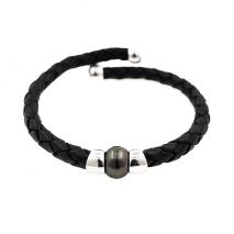 Chic masculine N ° 1 - Bracelet - Tahitian Pearl