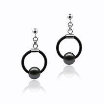 Secret céleste N°1 - Boucles d'oreilles - Perles de Tahiti