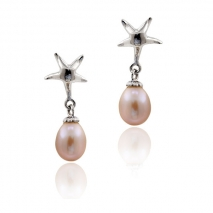 The childhood of art - earrings - pearl culture