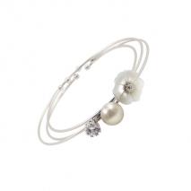Trinity N°1 - Bracelet - Titane - Perle de culture