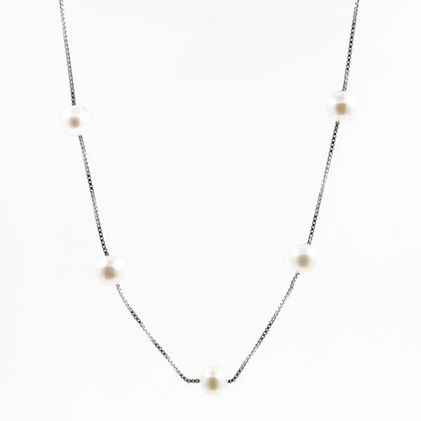 Finesse et aisance - Collier - Perle de culture