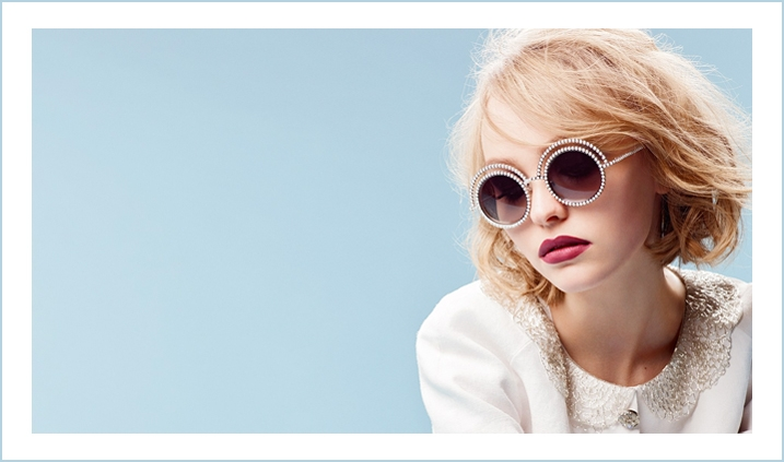 Lily Rose Depp by Chanel